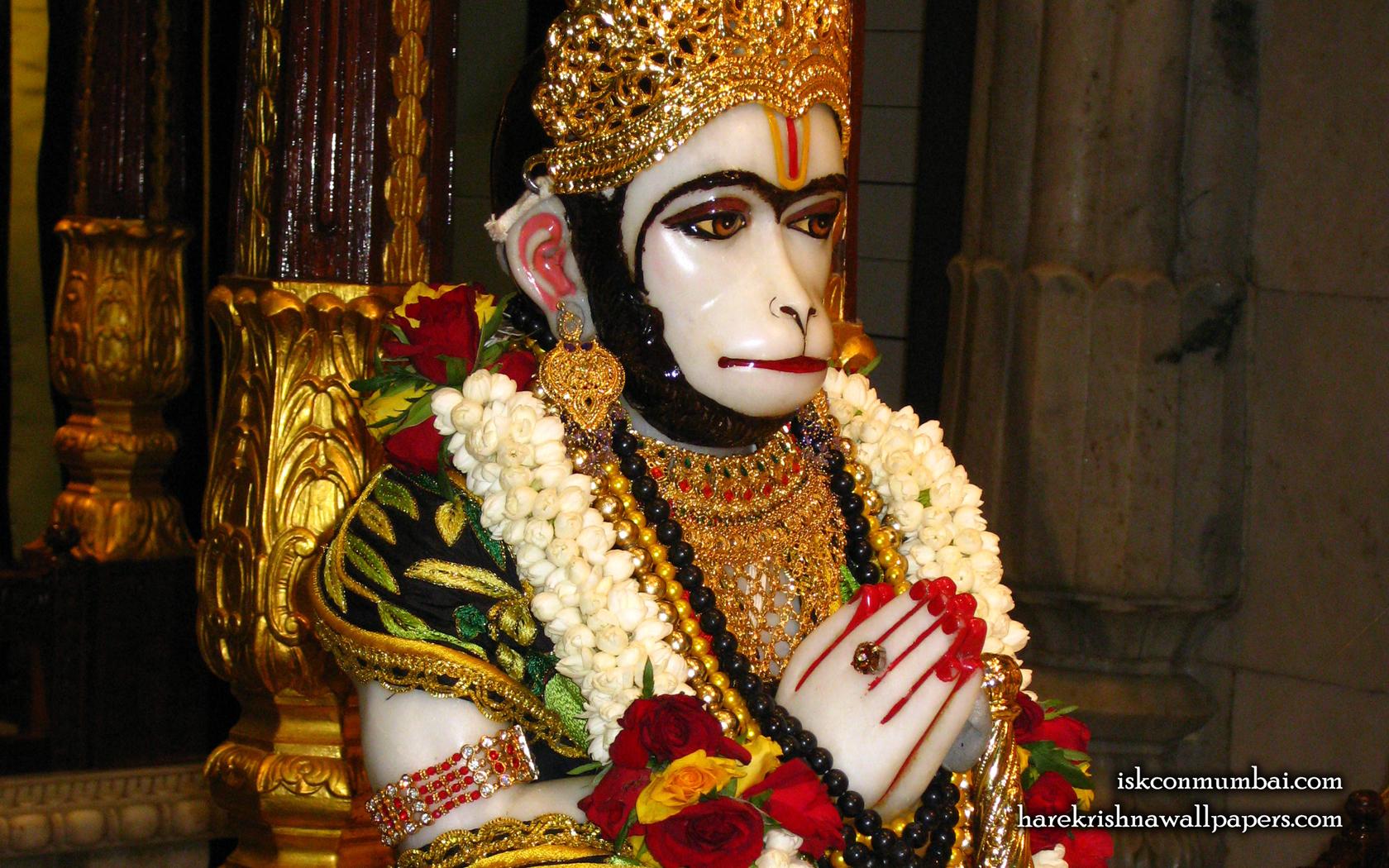 Sri Hanuman Face Wallpaper (006) Size 1680x1050 Download