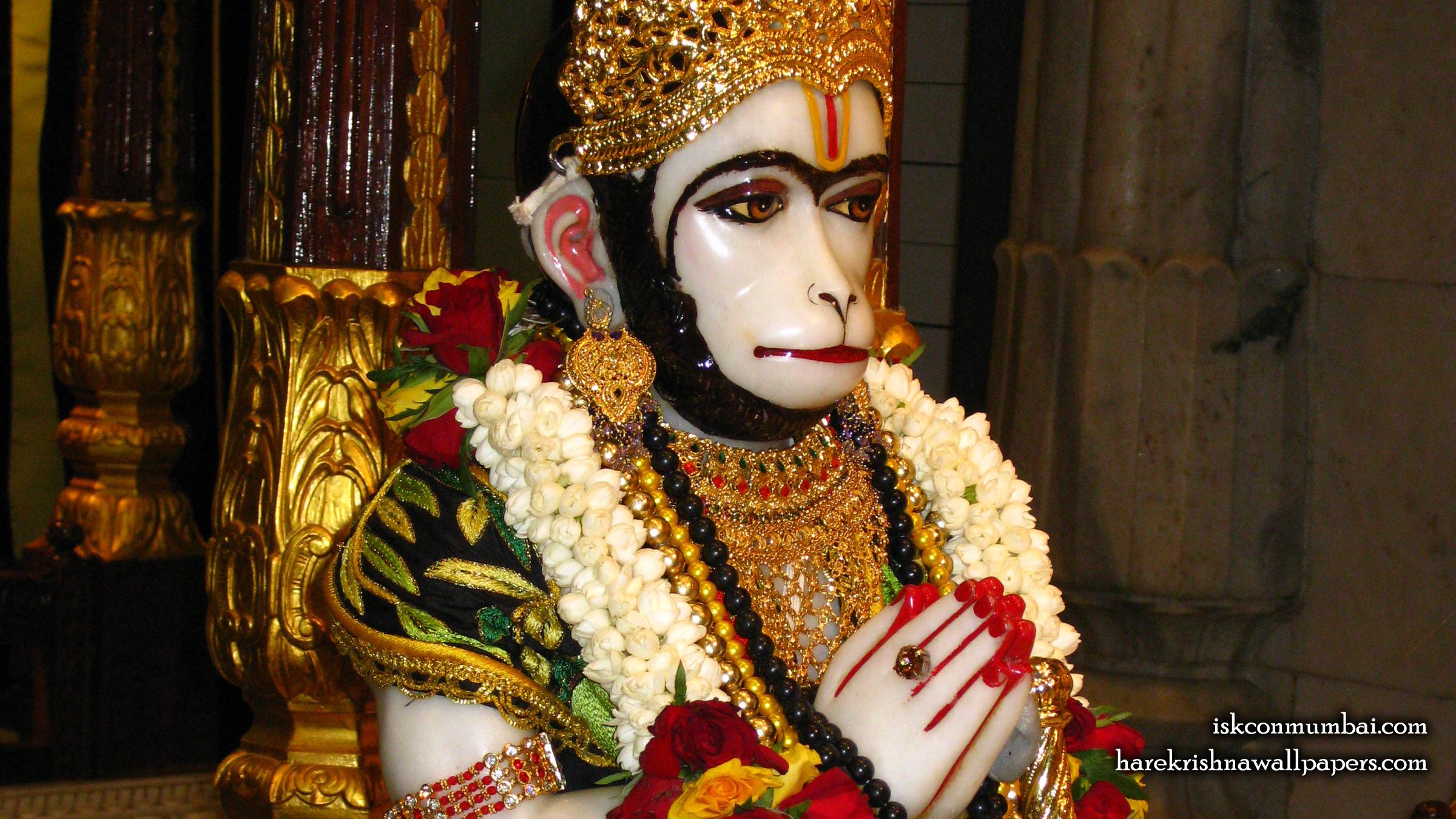 Sri Hanuman Face Wallpaper (006) Size 2400x1350 Download