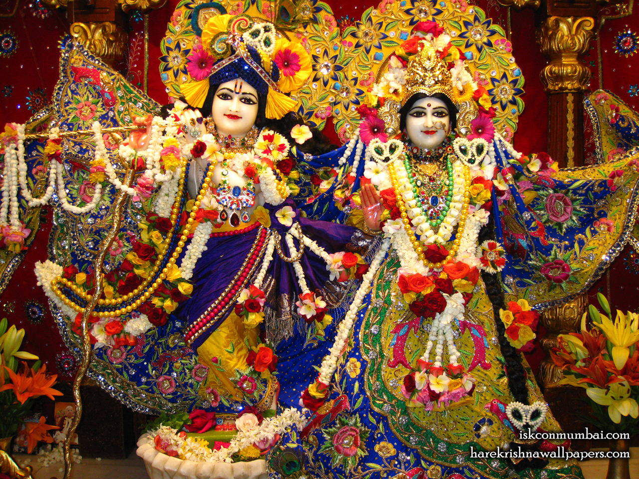 Sri Sri Radha Rasabihari Wallpaper (006) Size 1280x960 Download
