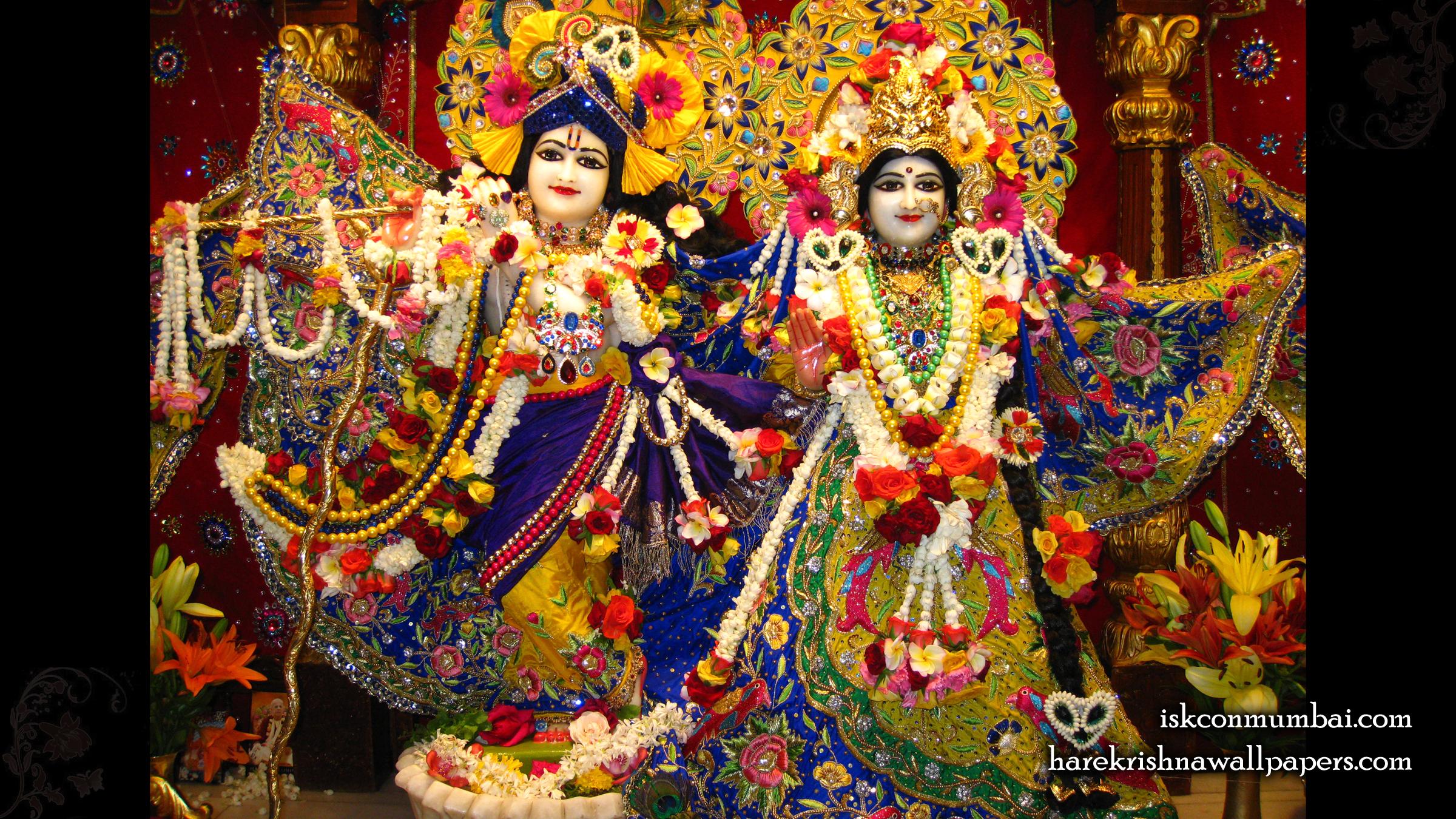 Sri Sri Radha Rasabihari Wallpaper (006) Size 2400x1350 Download
