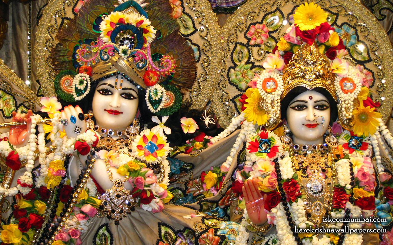 Sri Sri Radha Rasabihari Close up Wallpaper (006) Size 1440x900 Download