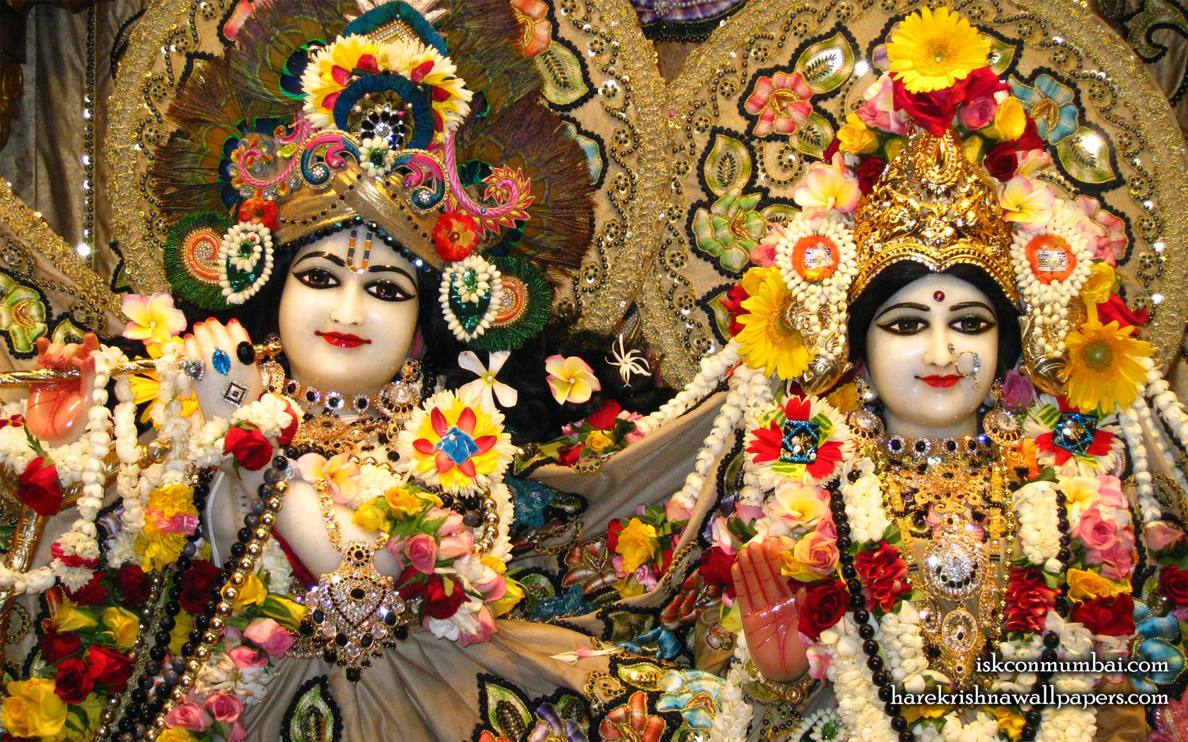 Sri Sri Radha Rasabihari Close up Wallpaper (006) Size 1680x1050 Download