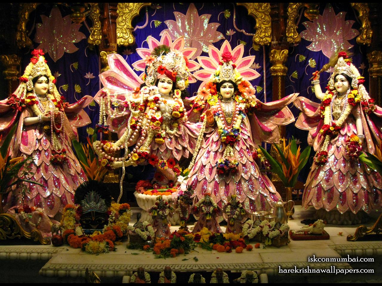 Sri Sri Radha Rasabihari Lalita Vishakha Wallpaper (006) Size 1280x960 Download