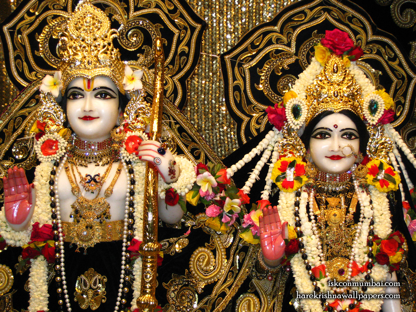 Sri Sri Sita Rama Close up Wallpaper (006) Size 1400x1050 Download