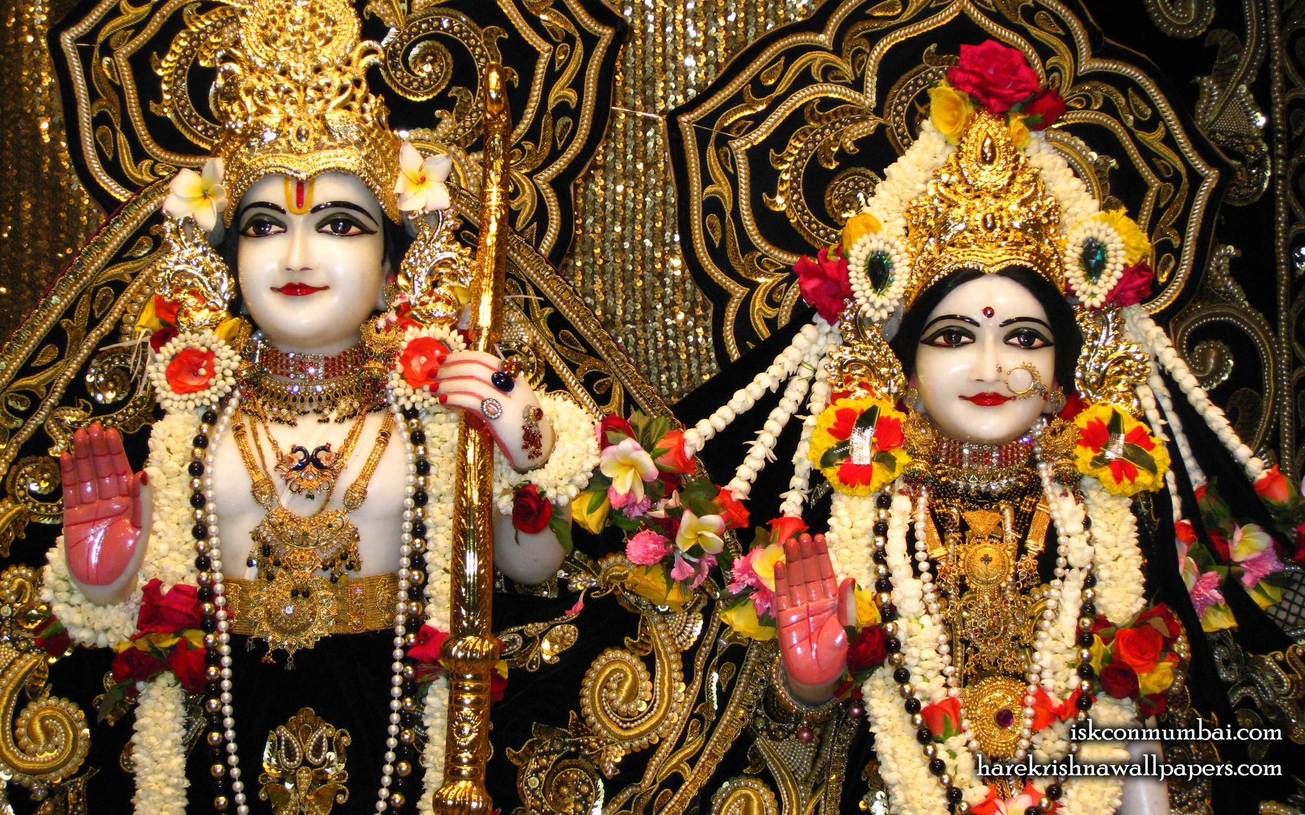 Sri Sri Sita Rama Close up Wallpaper (006) Size 2560x1600 Download