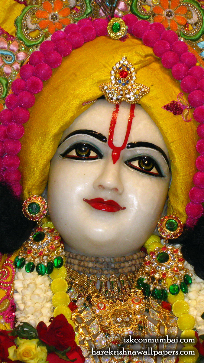 Sri Gauranga Face Wallpaper (007) Size 675x1200 Download