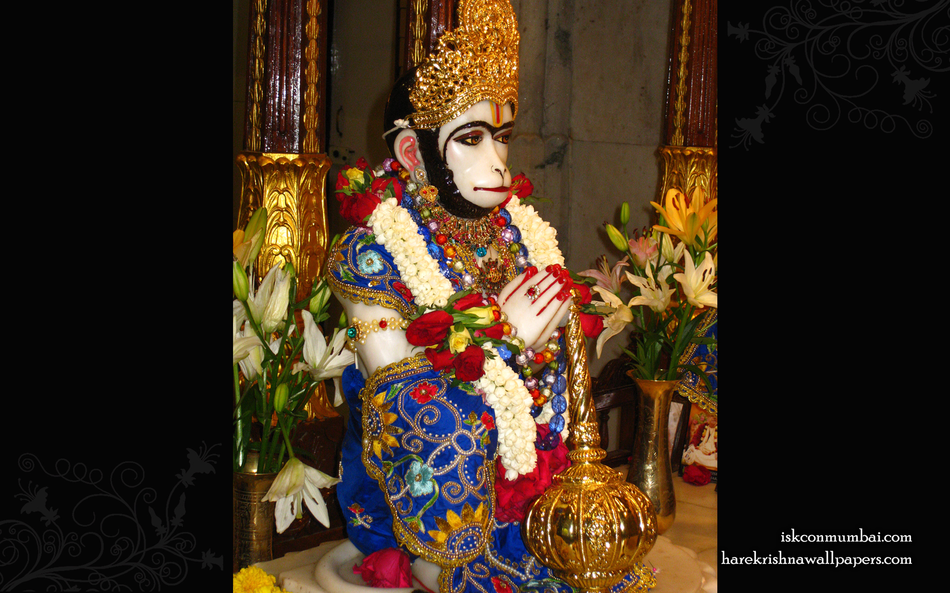 Sri Hanuman Wallpaper (007) Size 1920x1200 Download