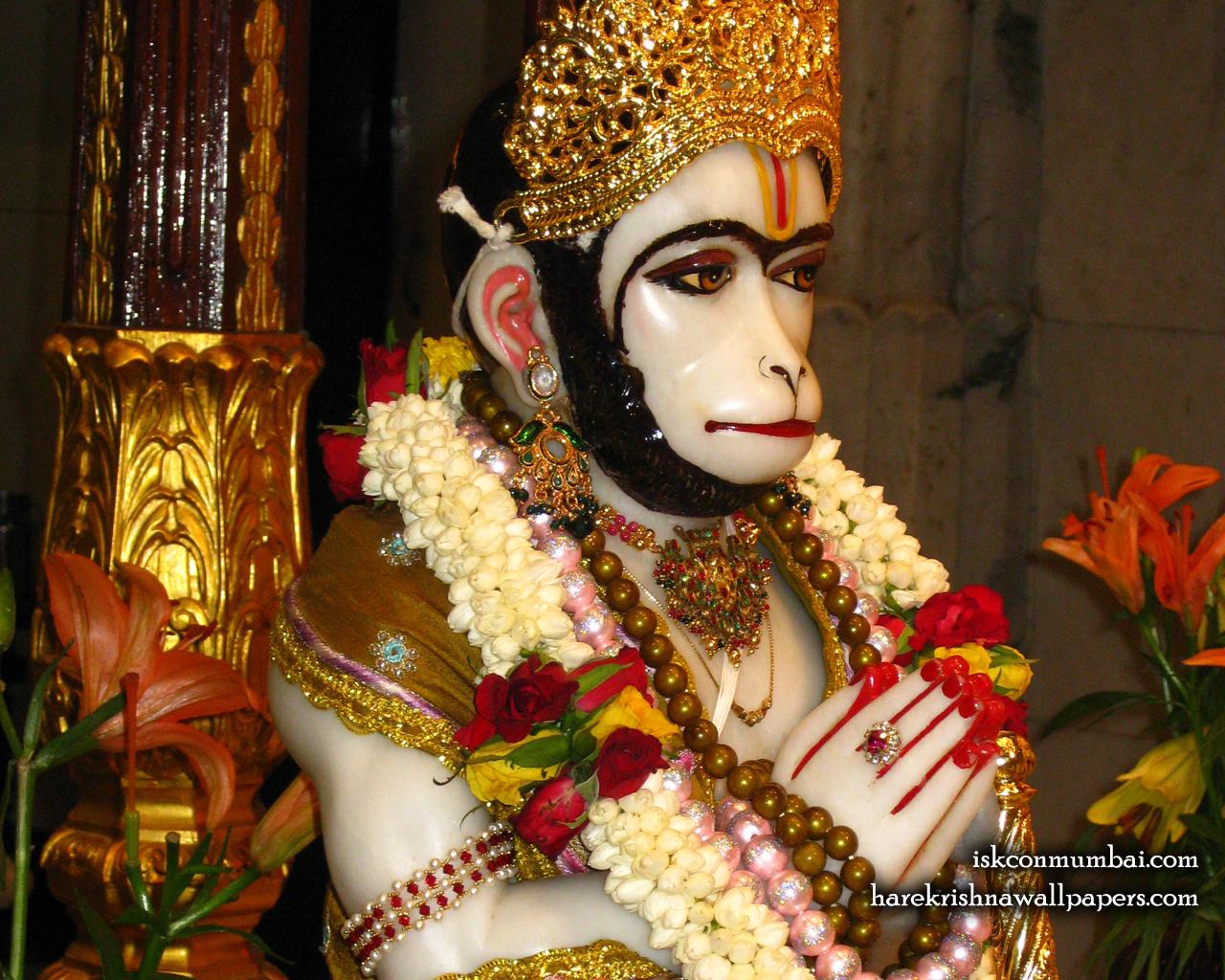 Sri Hanuman Face Wallpaper (007) Size 1280x1024 Download