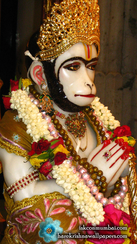 Sri Hanuman Face Wallpaper (007) Size 450x800 Download