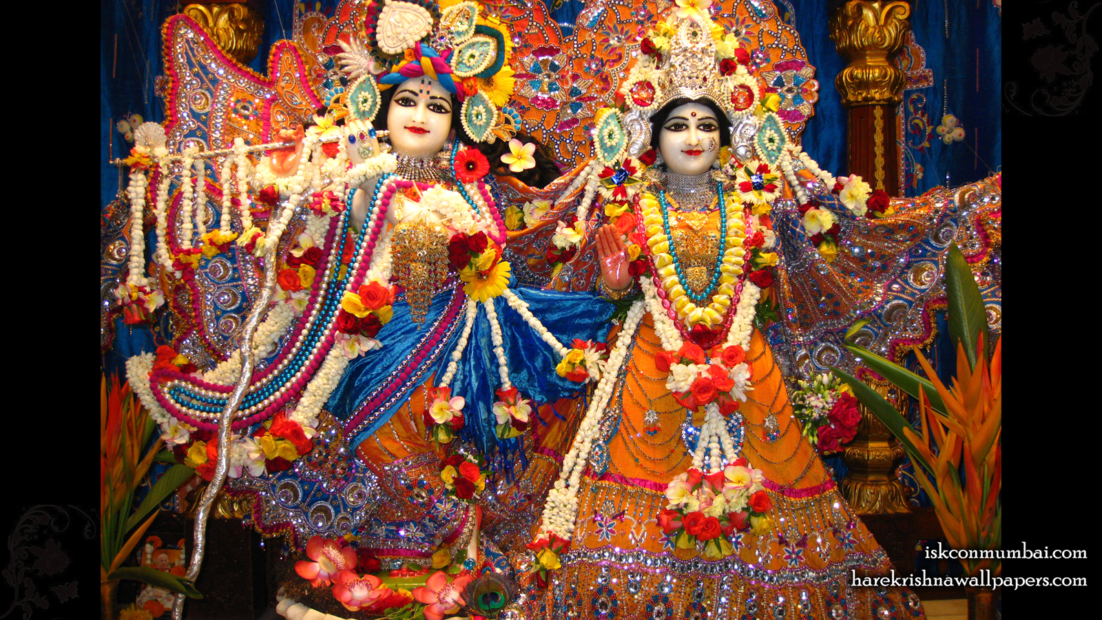 Sri Sri Radha Rasabihari Wallpaper (007) Size 1600x900 Download