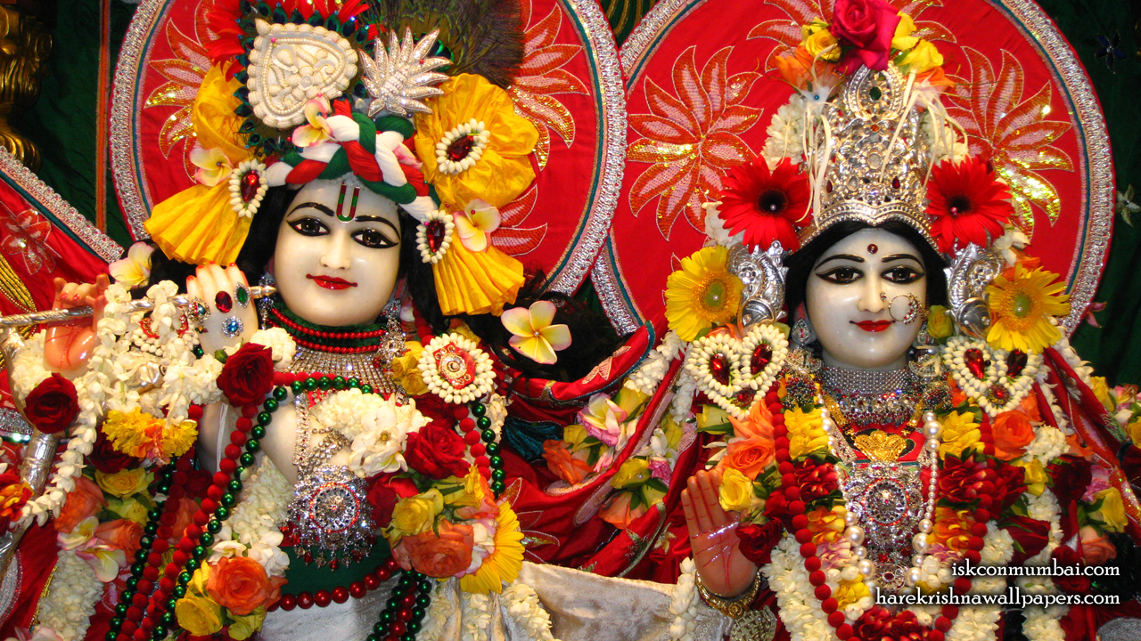 Sri Sri Radha Rasabihari Close up Wallpaper (007) Size1280x720 Download