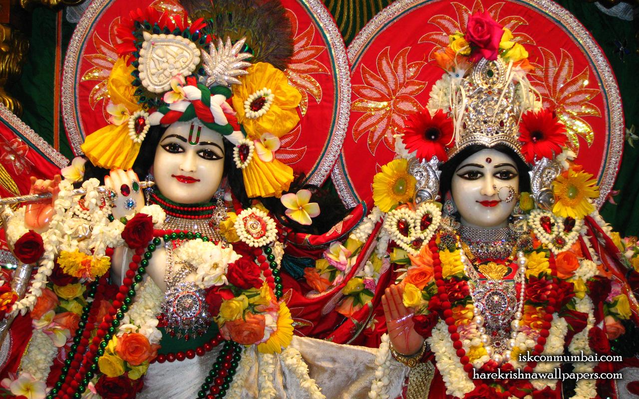 Sri Sri Radha Rasabihari Close up Wallpaper (007) Size 1280x800 Download