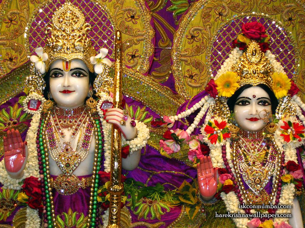 Sri Sri Sita Rama Close up Wallpaper (007) Size 1024x768 Download