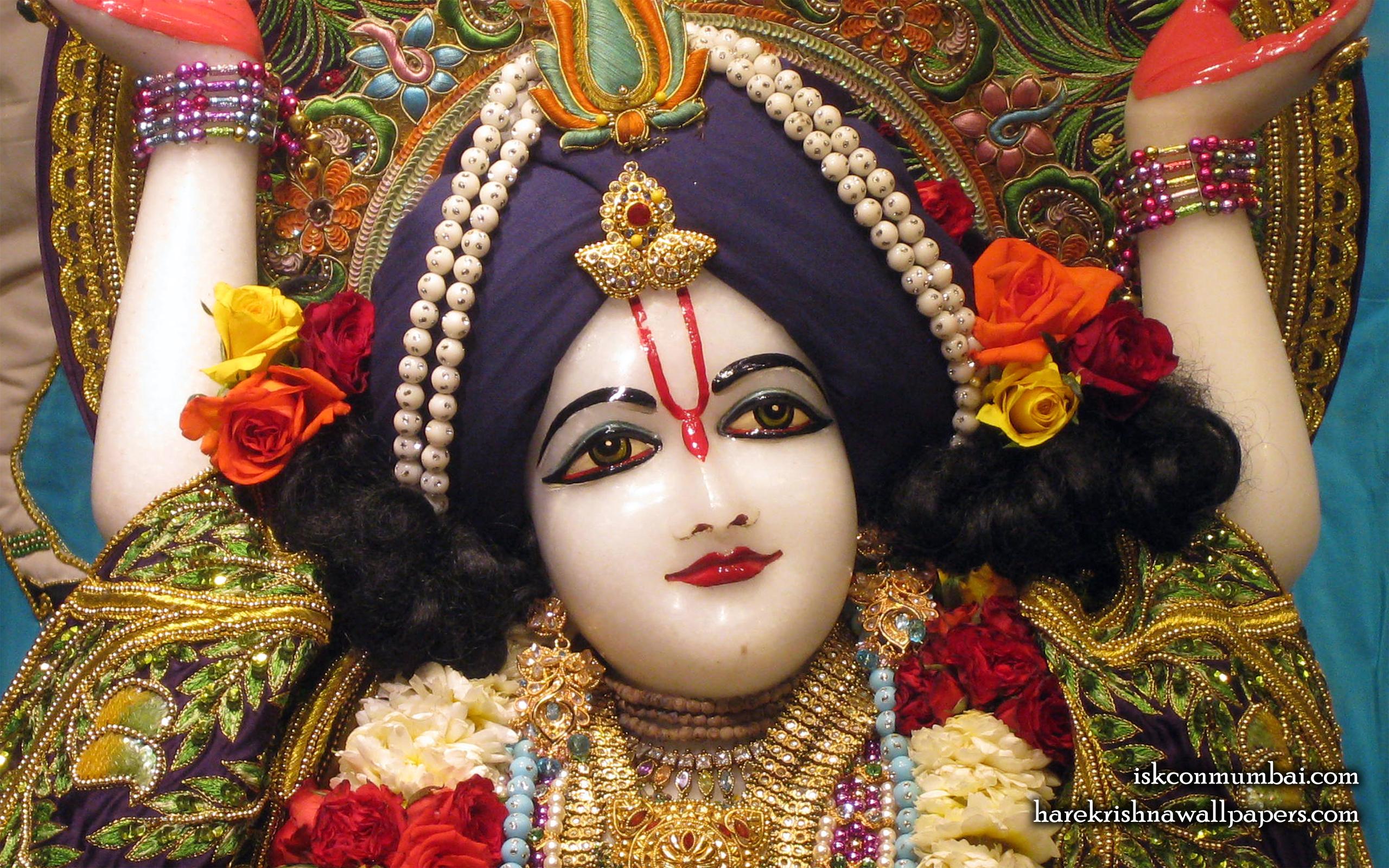 Sri Nitai Face Wallpaper (008) Size 2560x1600 Download
