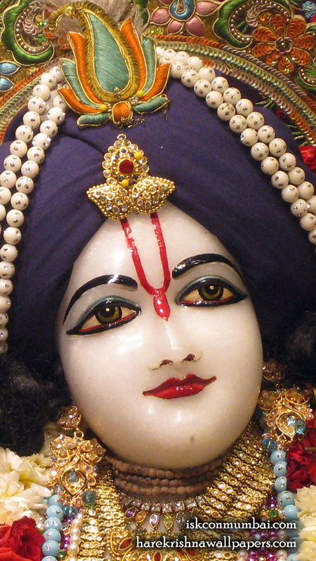 Sri Nitai Face Wallpaper (008) Size 450x800 Download
