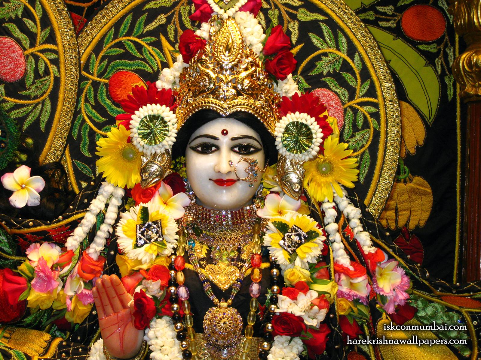 Sri Radha Face Wallpaper (008) Size1600x1200 Download
