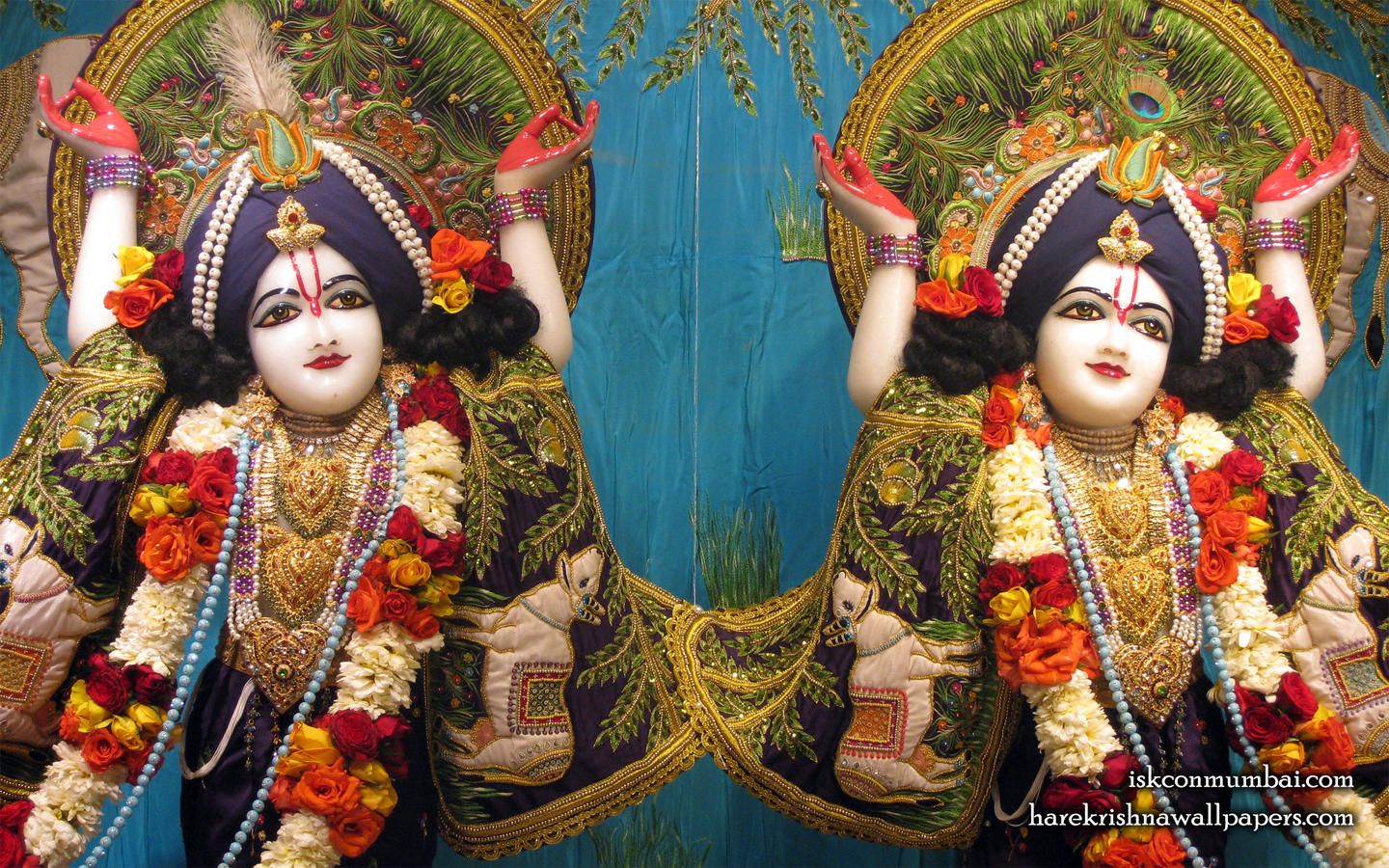 Sri Sri Gaura Nitai Close up Wallpaper (008) Size 1440x900 Download