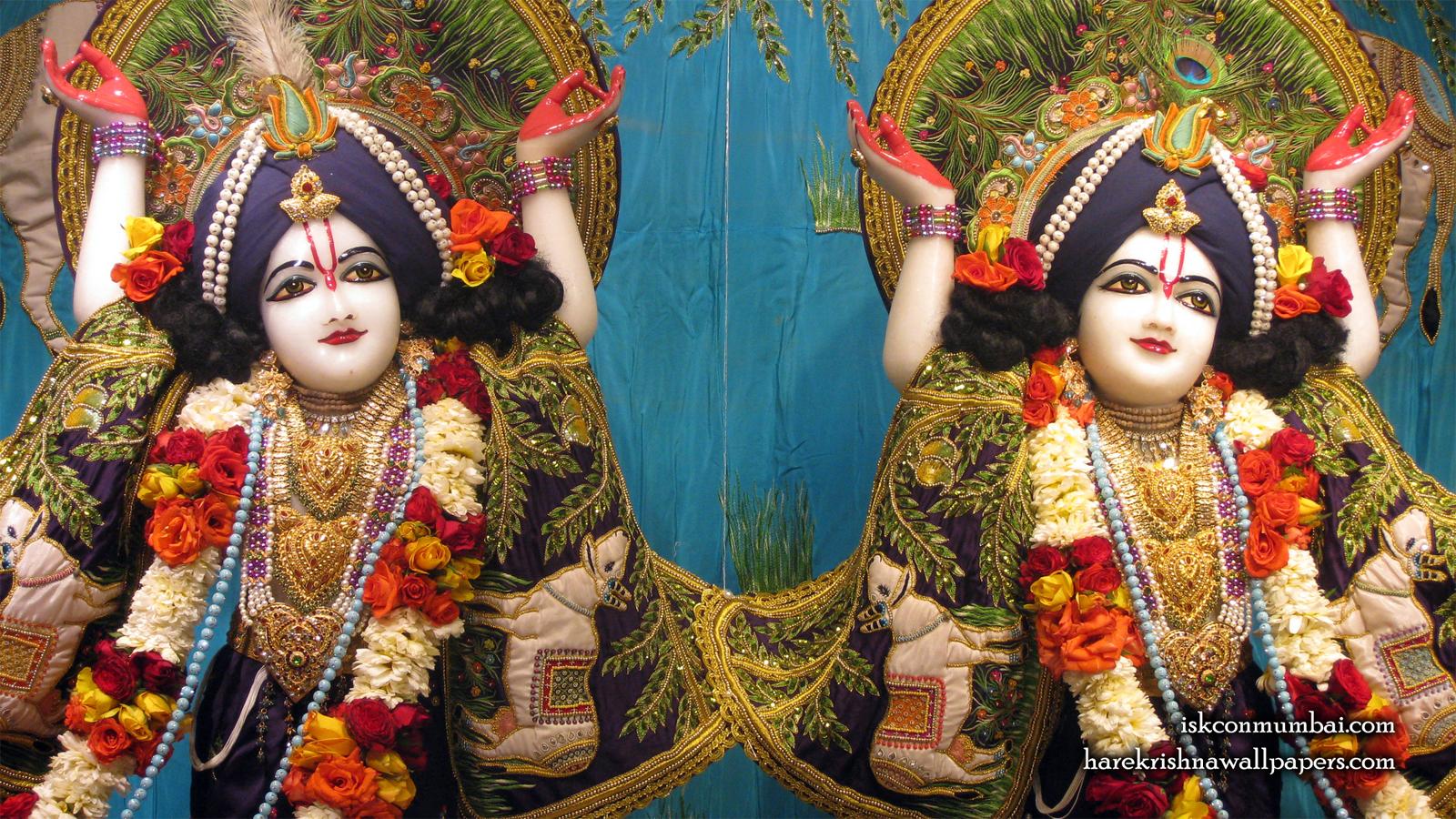 Sri Sri Gaura Nitai Close up Wallpaper (008) Size 1600x900 Download