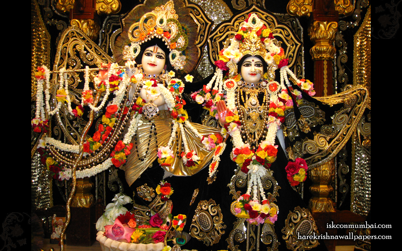 Sri Sri Radha Rasabihari Wallpaper (008) Size 1680x1050 Download