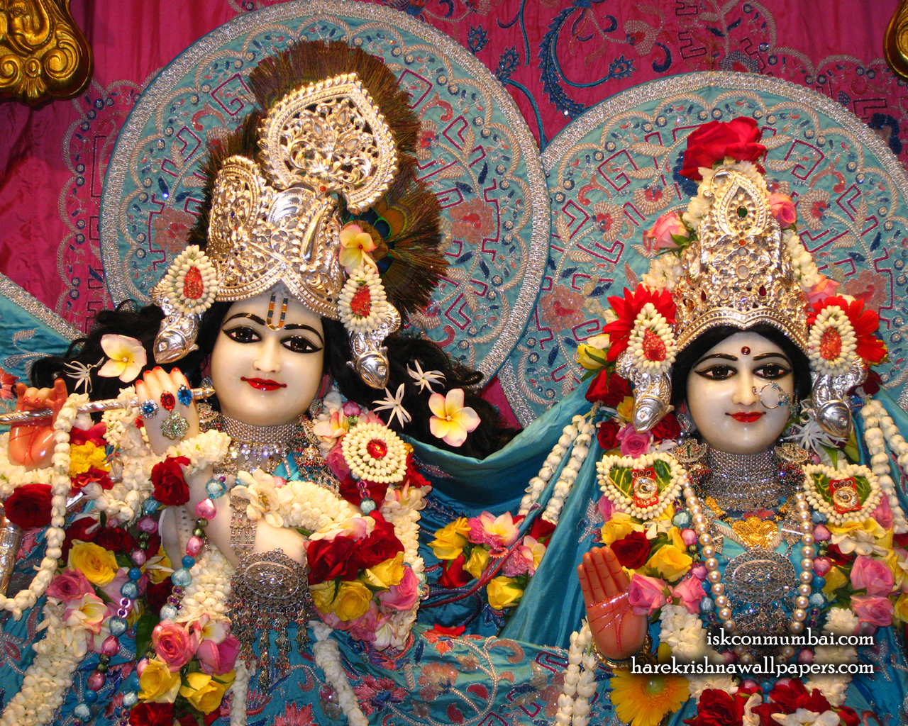 Sri Sri Radha Rasabihari Close up Wallpaper (008) Size 1280x1024 Download