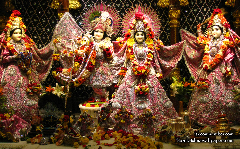 Sri Sri Radha Rasabihari Lalita Vishakha Wallpaper (008) Size 1440x900 Download