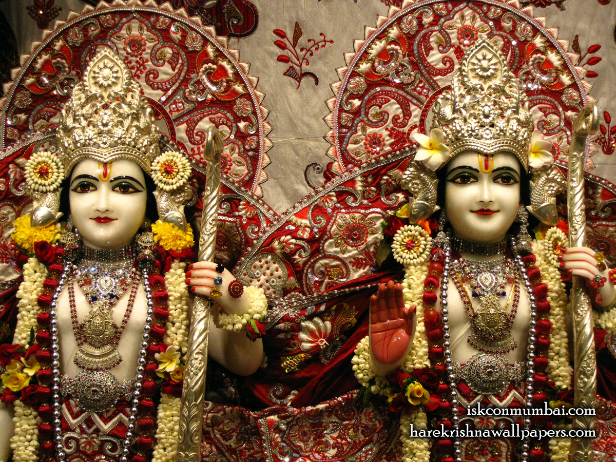 Sri Sri Rama Laxman Close up Wallpaper (008) Size1200x900 Download