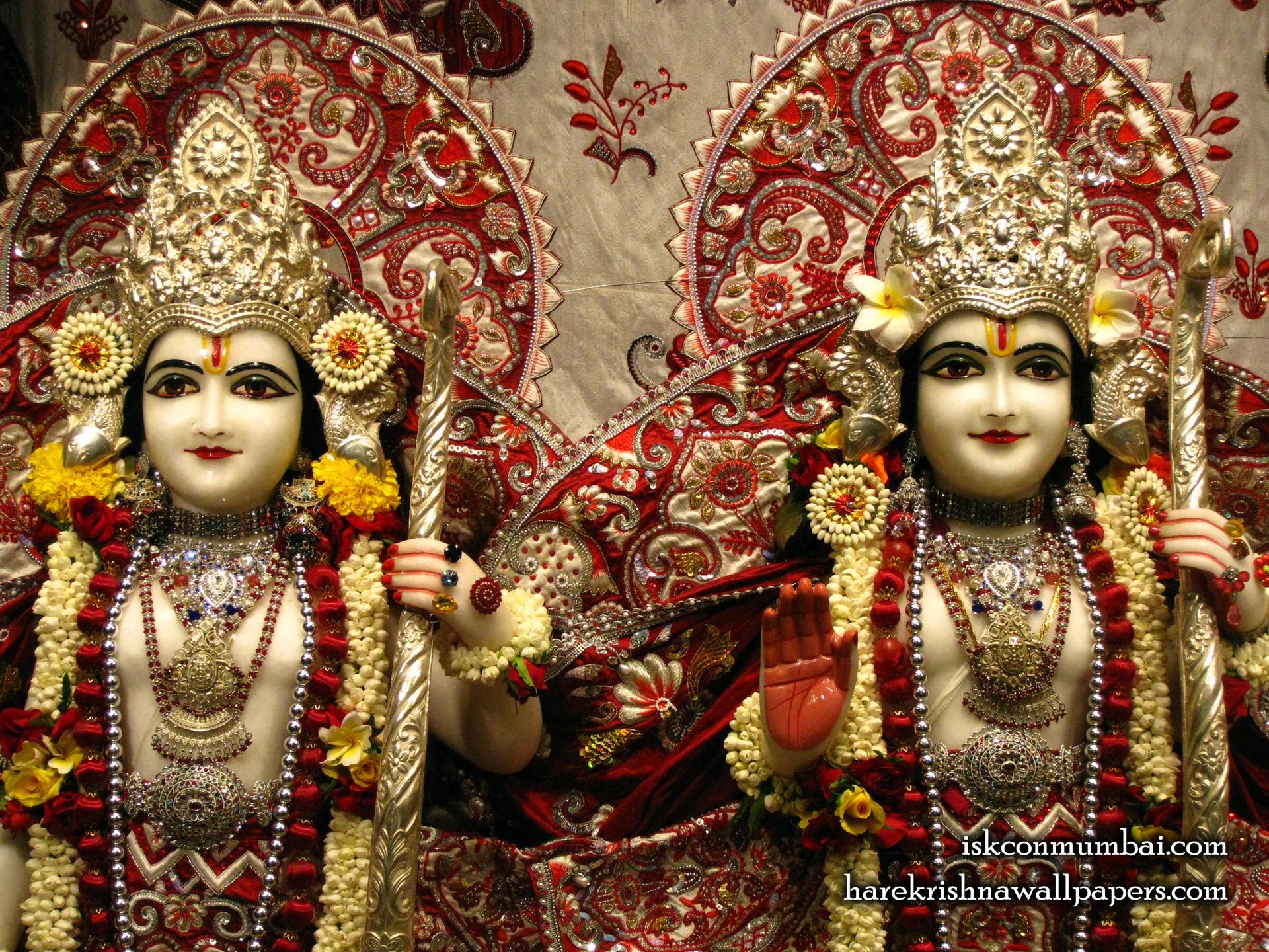 Sri Sri Rama Laxman Close up Wallpaper (008) Size 1920x1440 Download