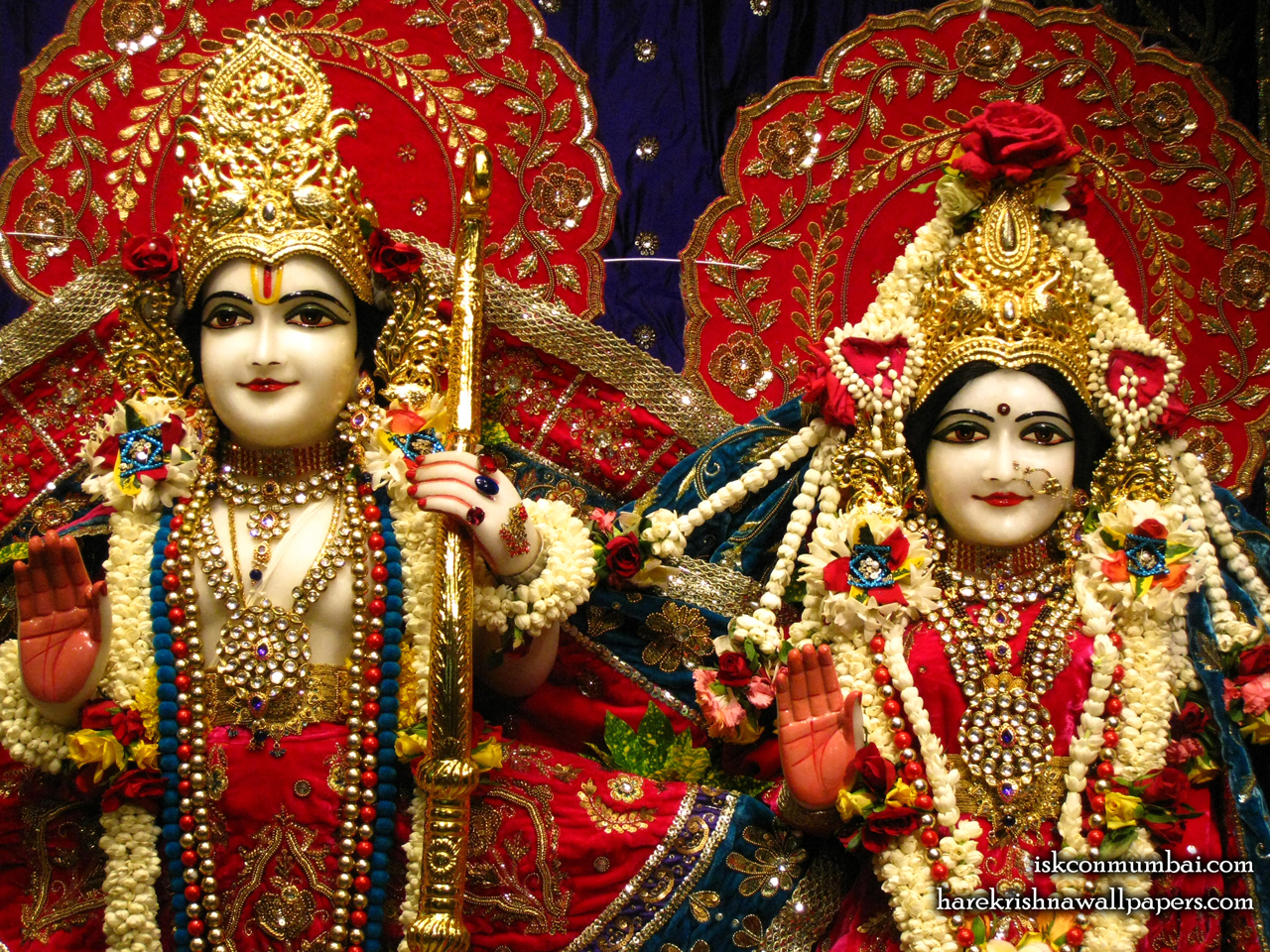 Sri Sri Sita Rama Close up Wallpaper (008) Size 1280x960 Download