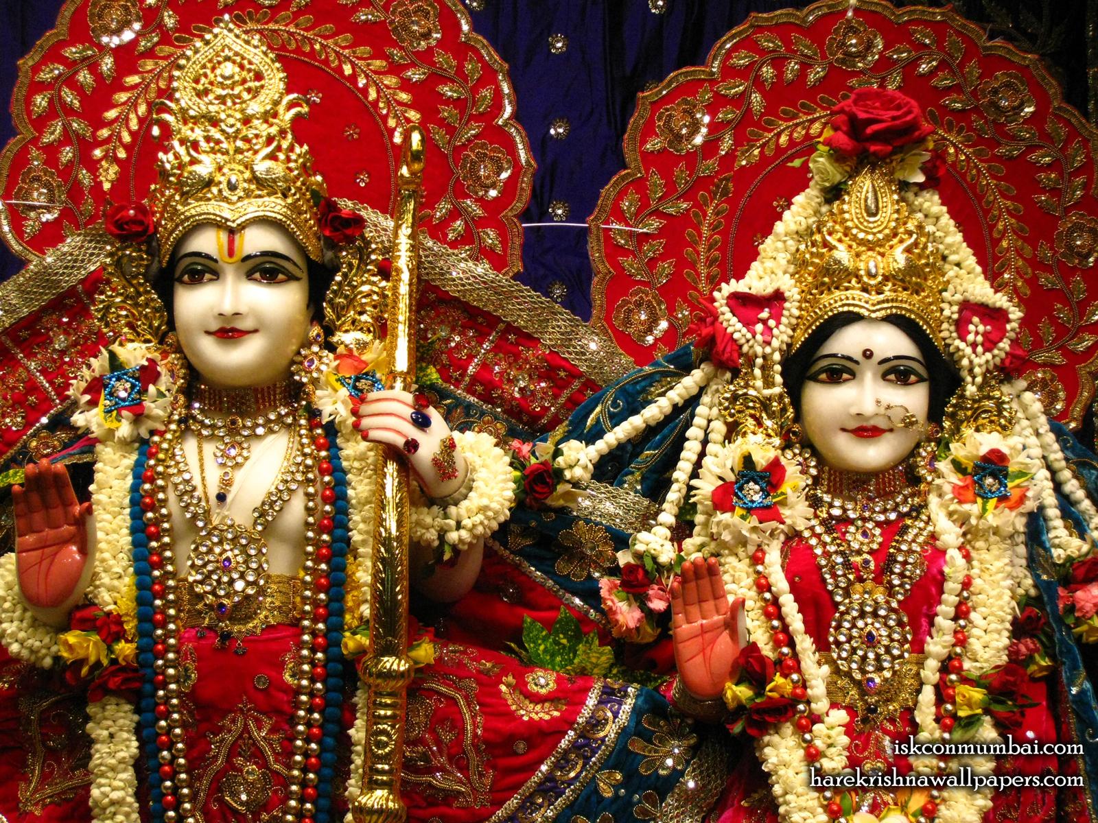 Sri Sri Sita Rama Close up Wallpaper (008) Size1600x1200 Download