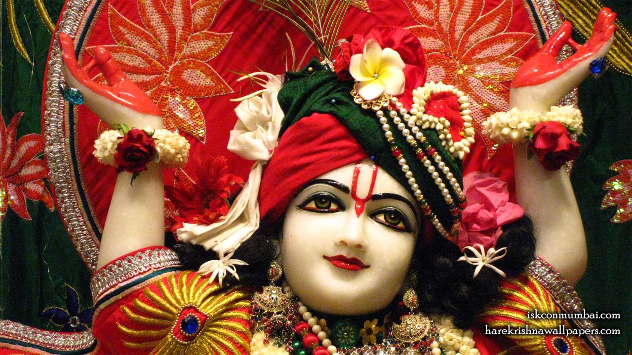 Sri Gauranga Face Wallpaper (009) Size1280x720 Download