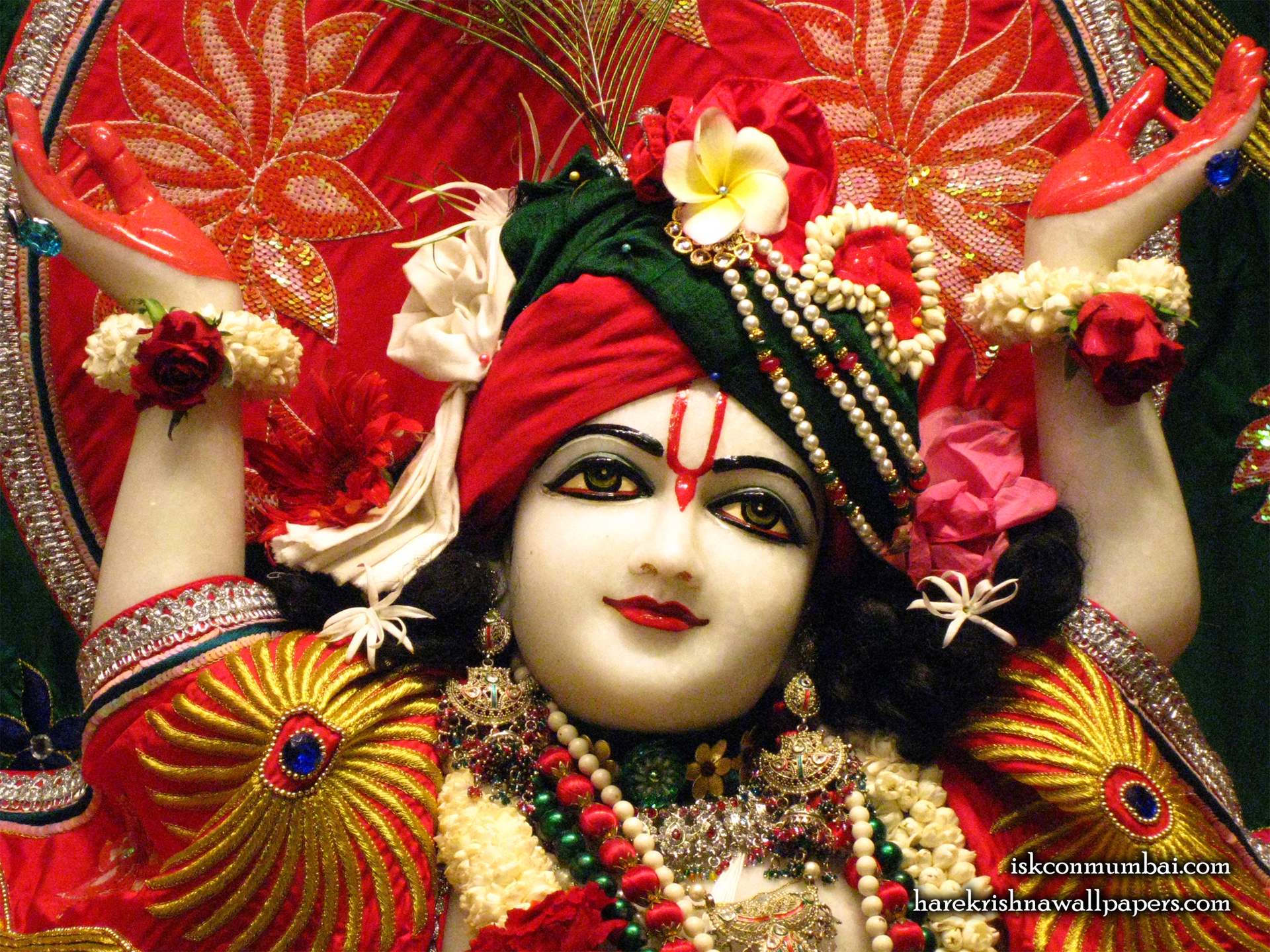 Sri Gauranga Face Wallpaper (009) Size 1920x1440 Download