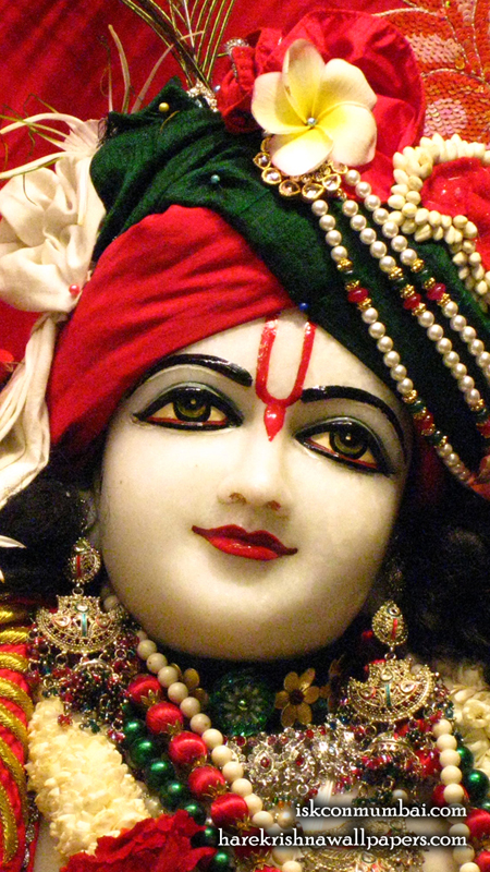 Sri Gauranga Face Wallpaper (009) Size 450x800 Download