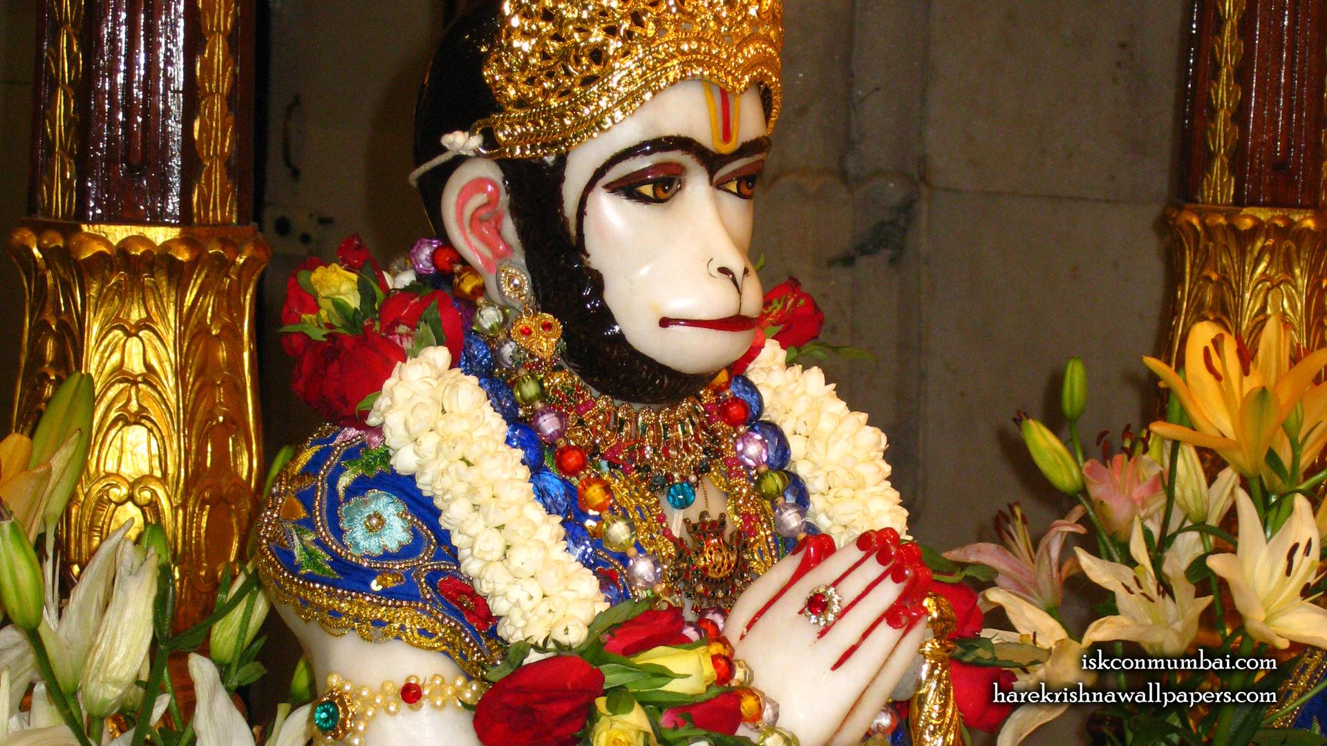 Sri Hanuman Face Wallpaper (009) Size 1920x1080 Download