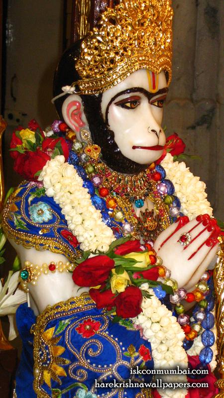 Sri Hanuman Face Wallpaper (009) Size 450x800 Download