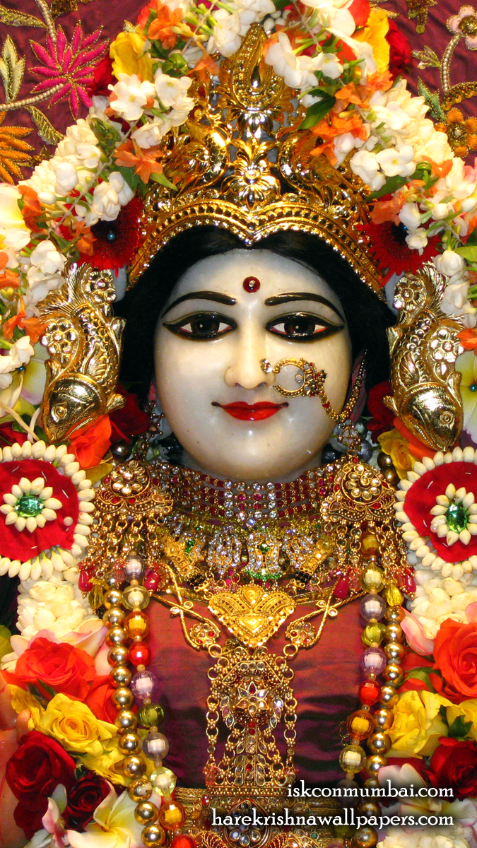 Sri Radha Face Wallpaper (009) Size 675x1200 Download