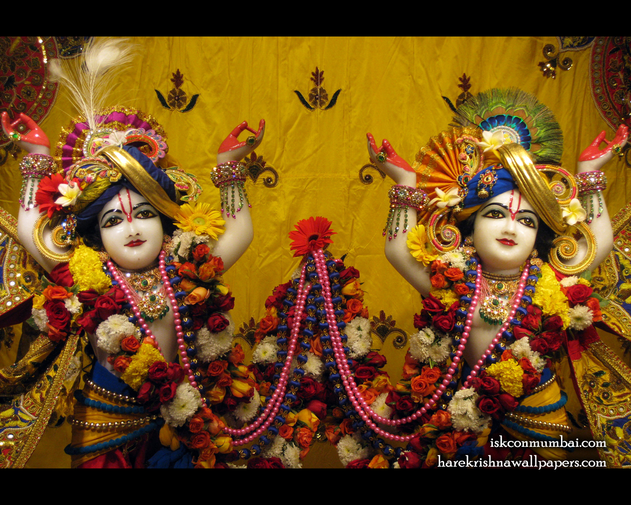 Sri Sri Gaura Nitai Close up Wallpaper (009) Size 1280x1024 Download