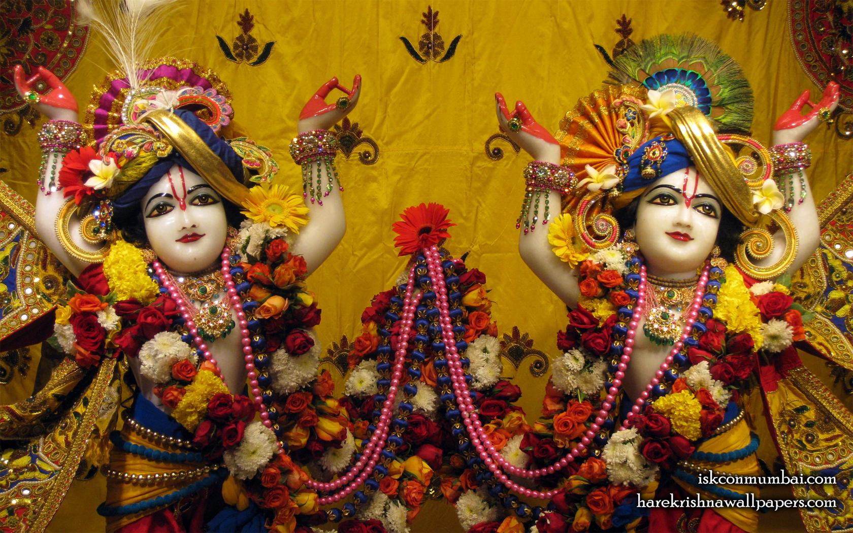 Sri Sri Gaura Nitai Close up Wallpaper (009) Size 1680x1050 Download