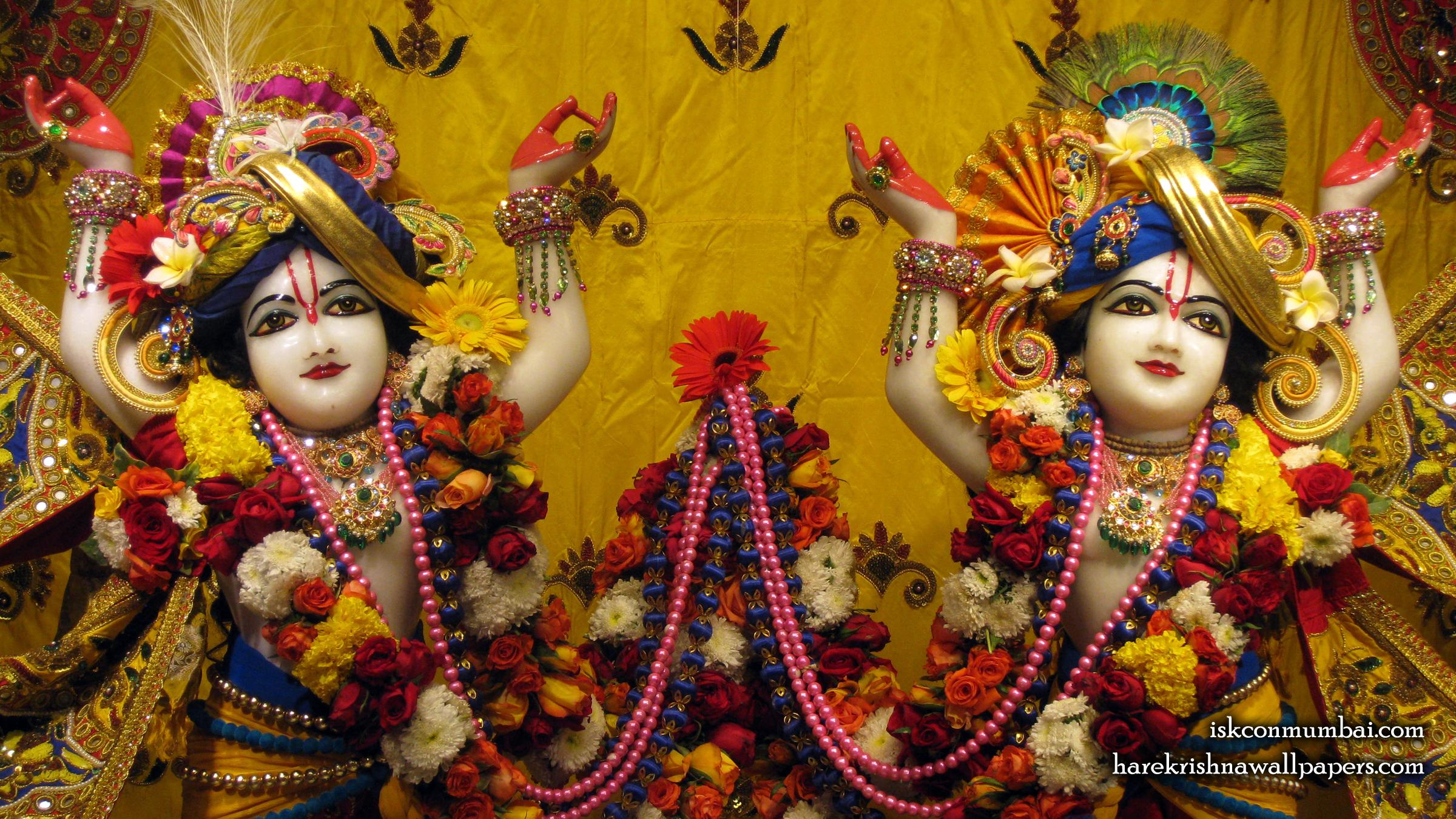 Sri Sri Gaura Nitai Close up Wallpaper (009) Size 2400x1350 Download