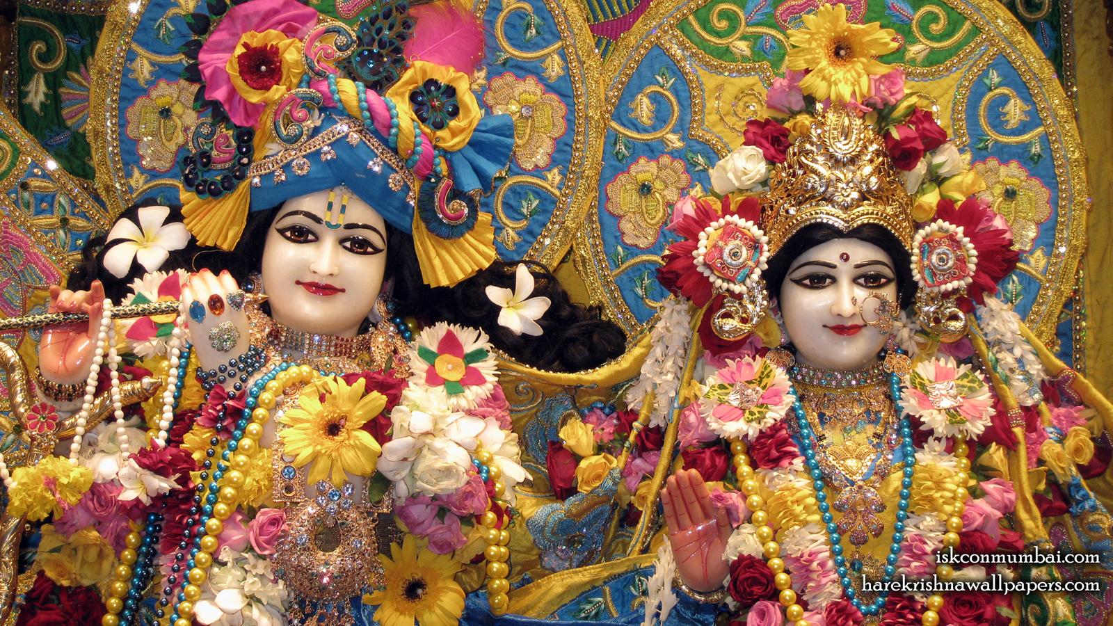 Sri Sri Radha Rasabihari Close up Wallpaper (009) Size 1600x900 Download