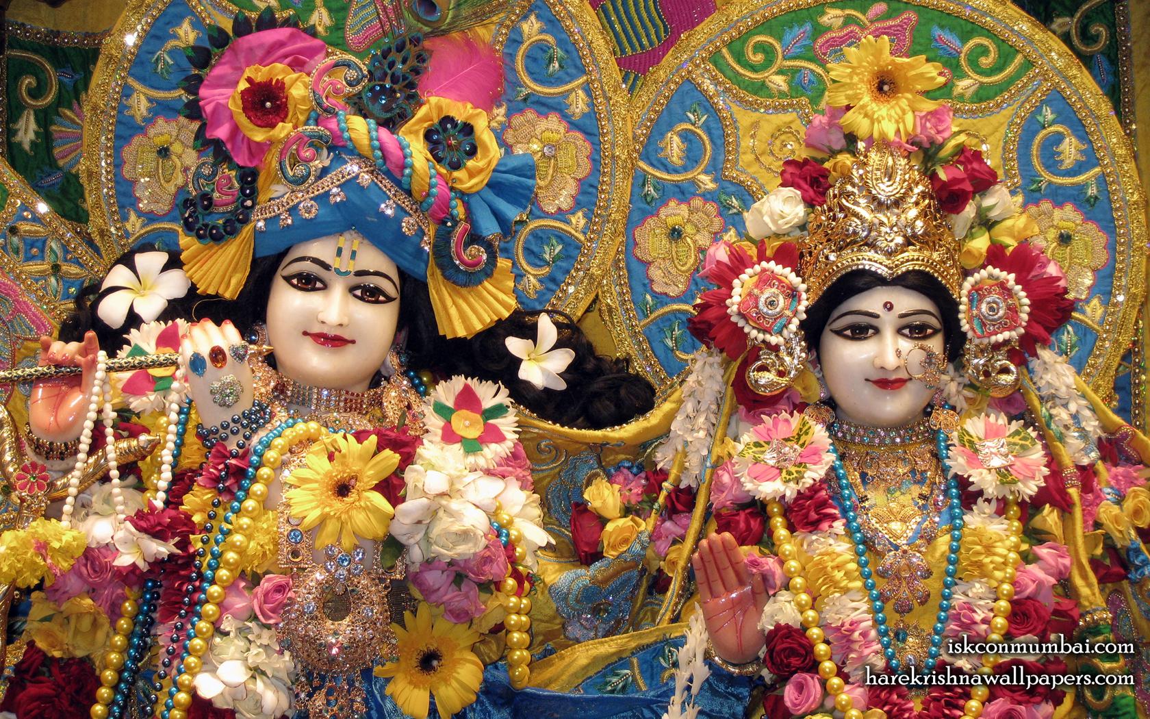 Sri Sri Radha Rasabihari Close up Wallpaper (009) Size 1680x1050 Download
