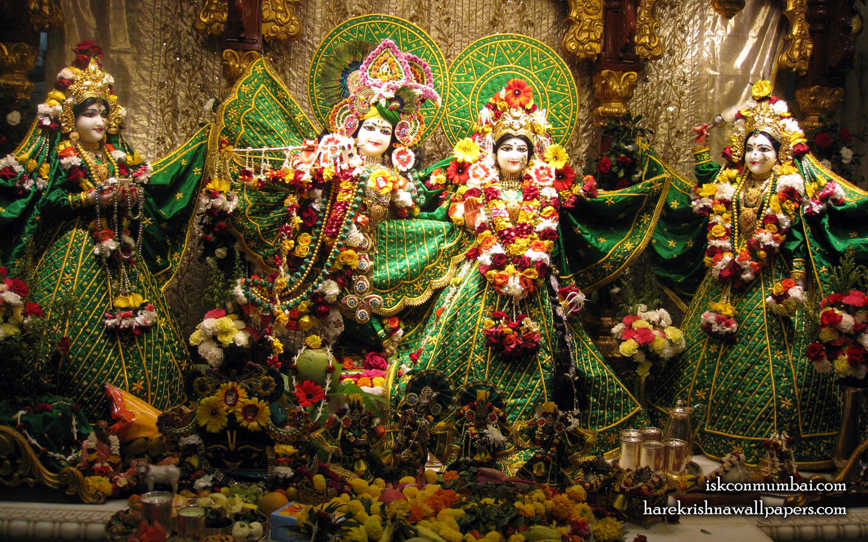 Sri Sri Radha Rasabihari Lalita Vishakha Wallpaper (009) Size 1440x900 Download