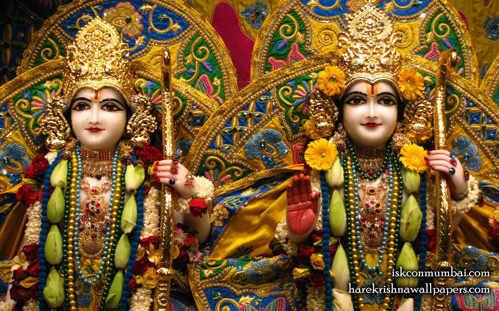 Sri Sri Rama Laxman Close up Wallpaper (009) Size 1680x1050 Download