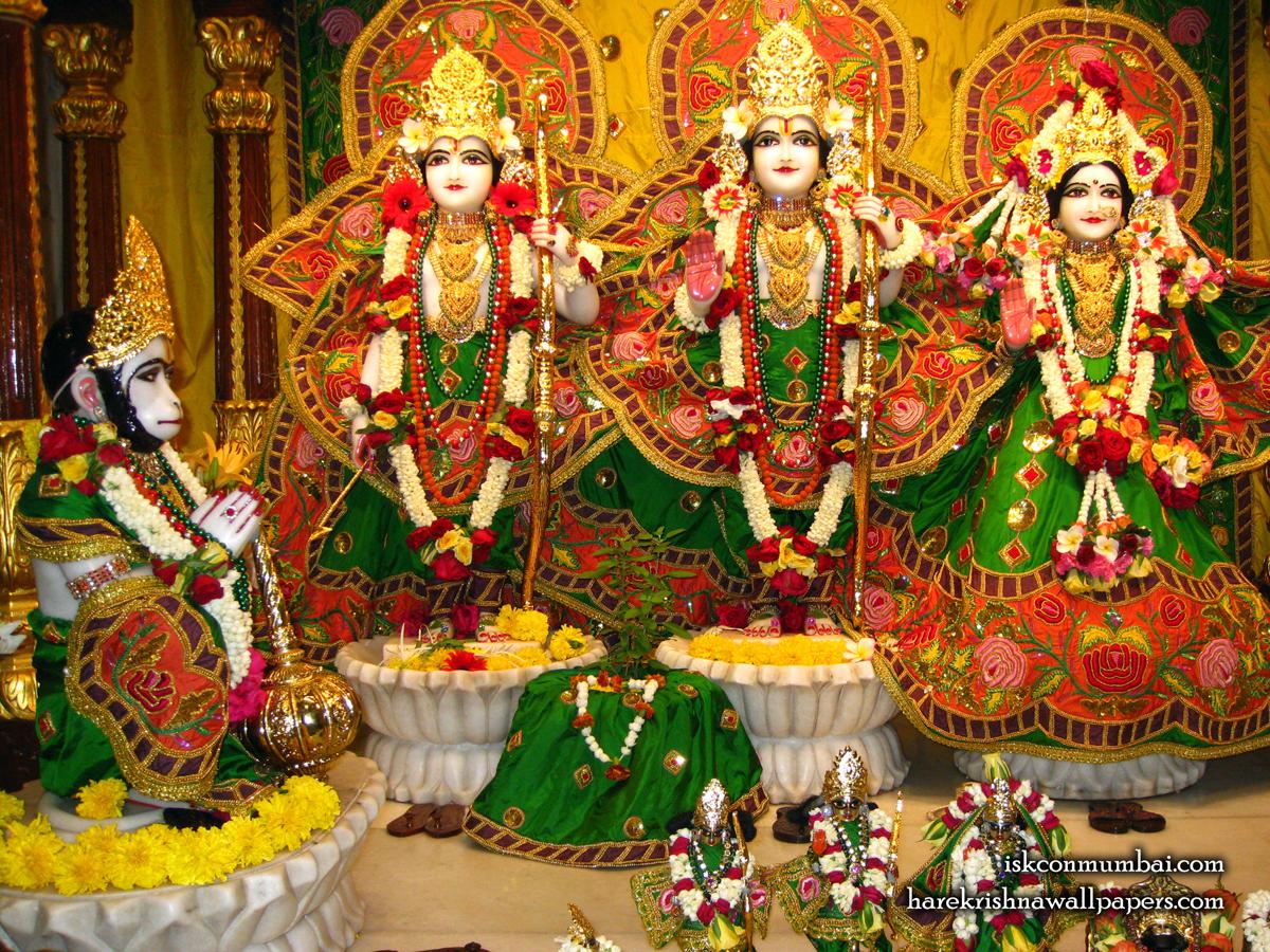 Sri Sri Sita Rama Laxman Hanuman Wallpaper (009) Size1200x900 Download