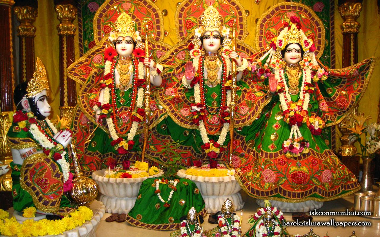 Sri Sri Sita Rama Laxman Hanuman Wallpaper (009) Size 1280x800 Download