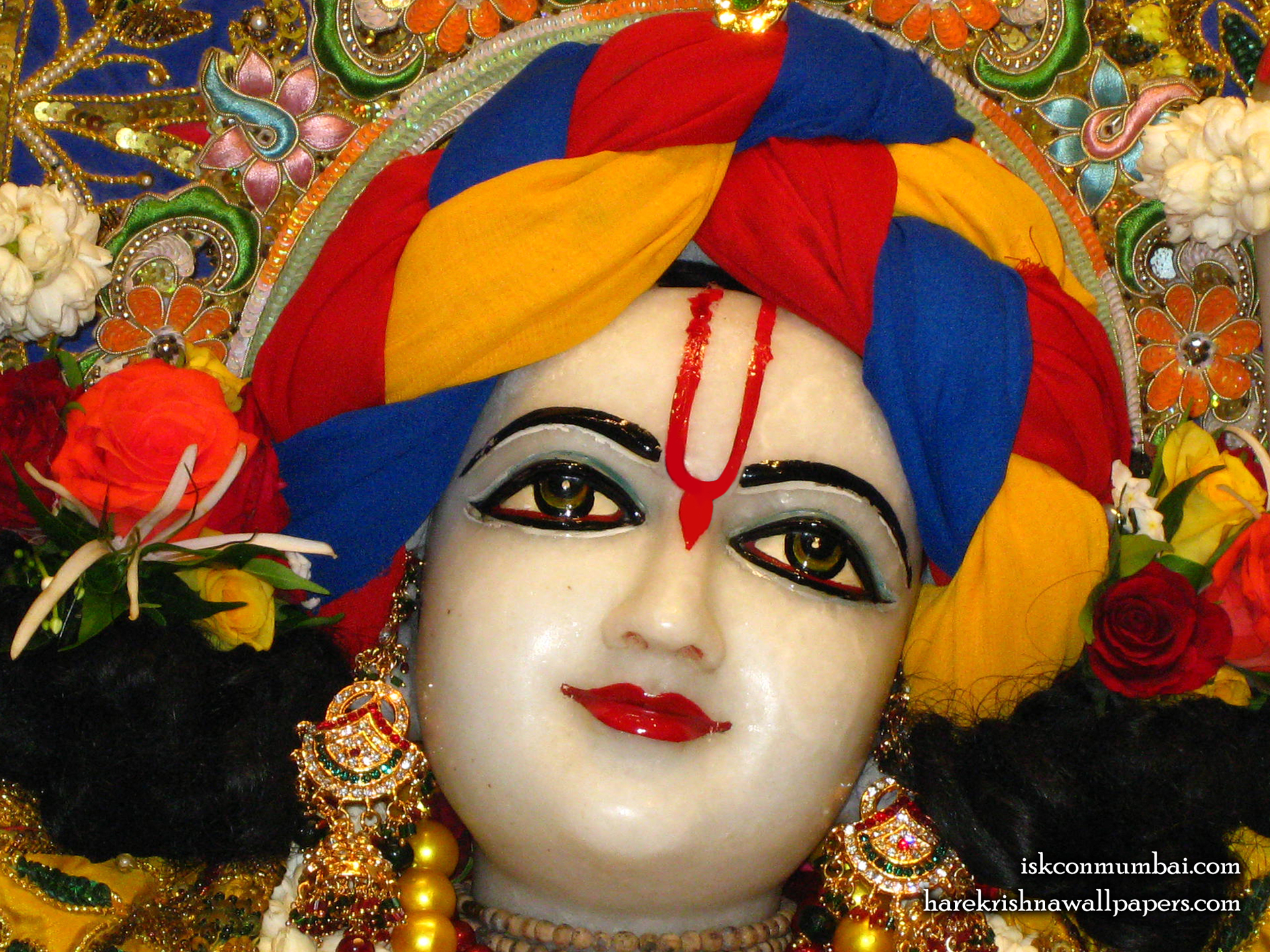 Sri Gauranga Face Wallpaper (010) Size 1920x1440 Download