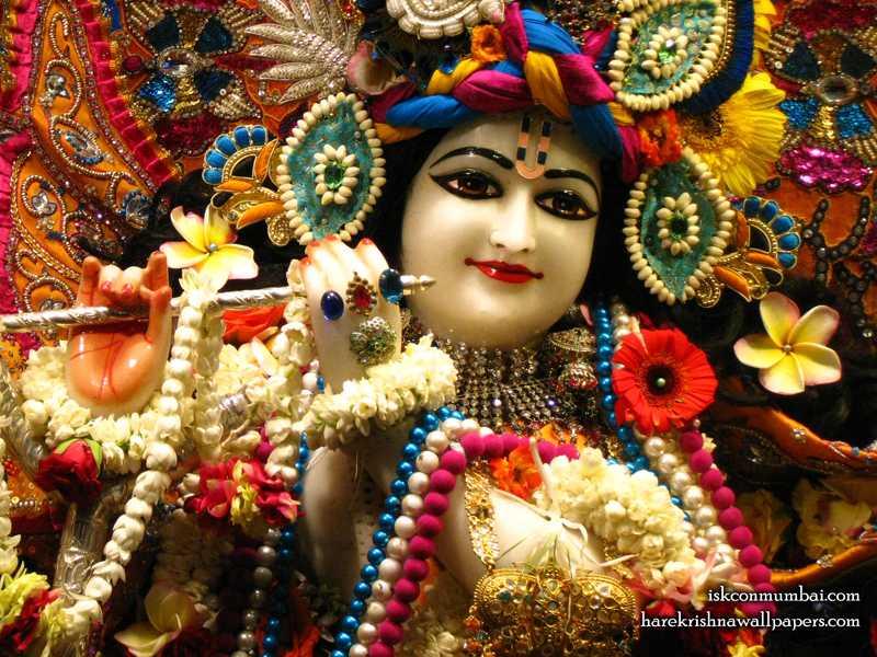 Sri Rasabihari Face Wallpaper (010)