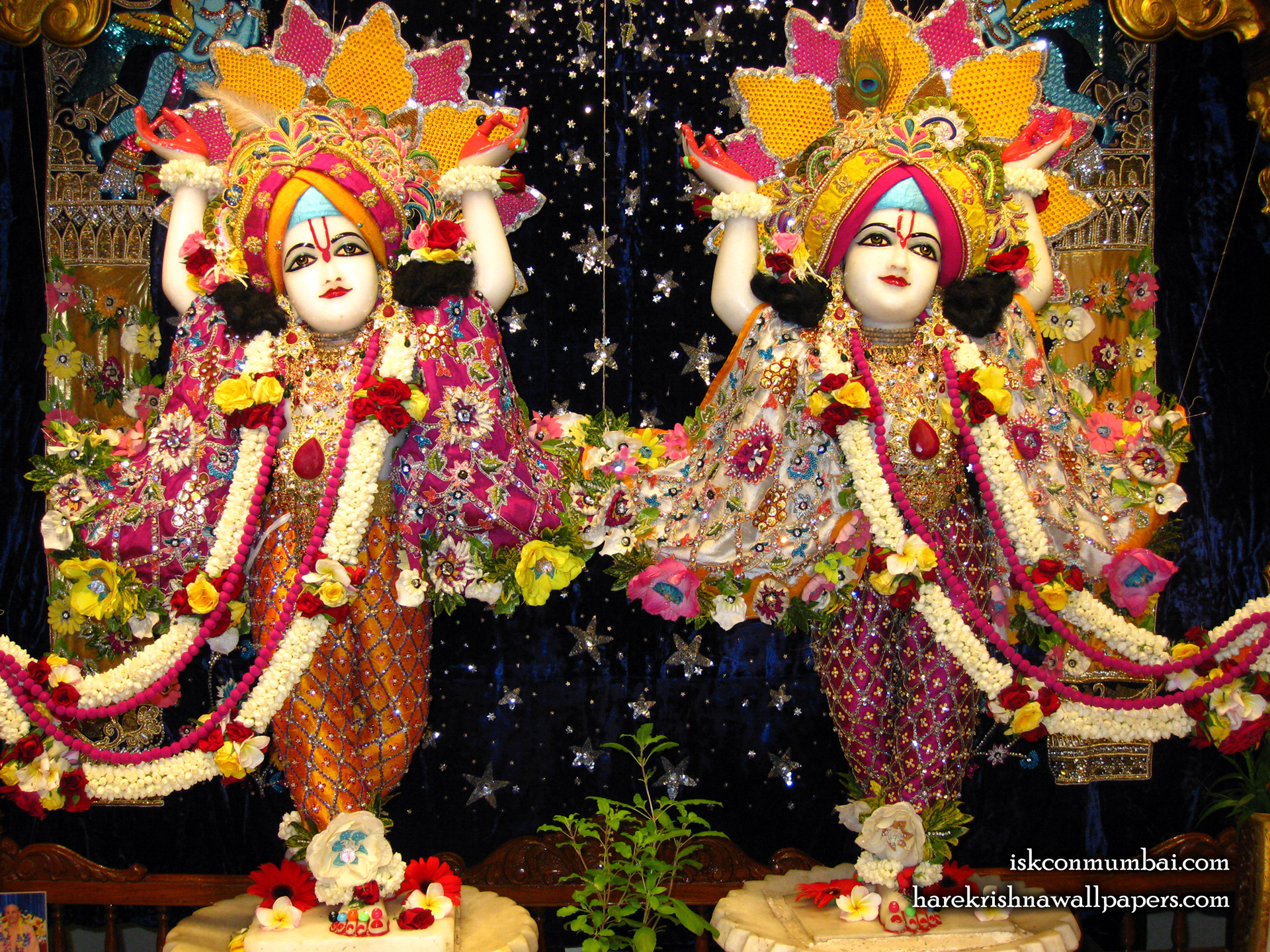 Sri Sri Gaura Nitai Wallpaper (010) Size 1920x1440 Download