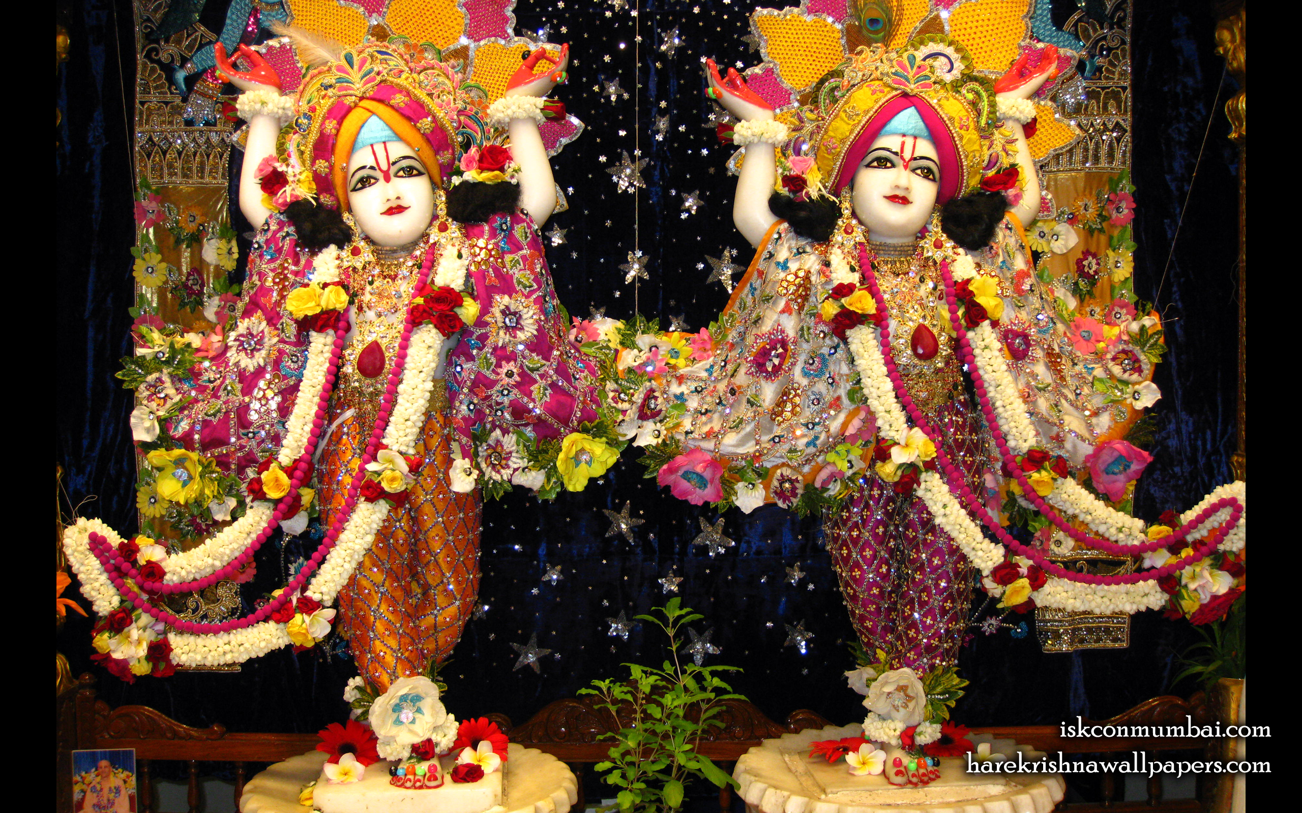 Sri Sri Gaura Nitai Wallpaper (010) Size 2560x1600 Download