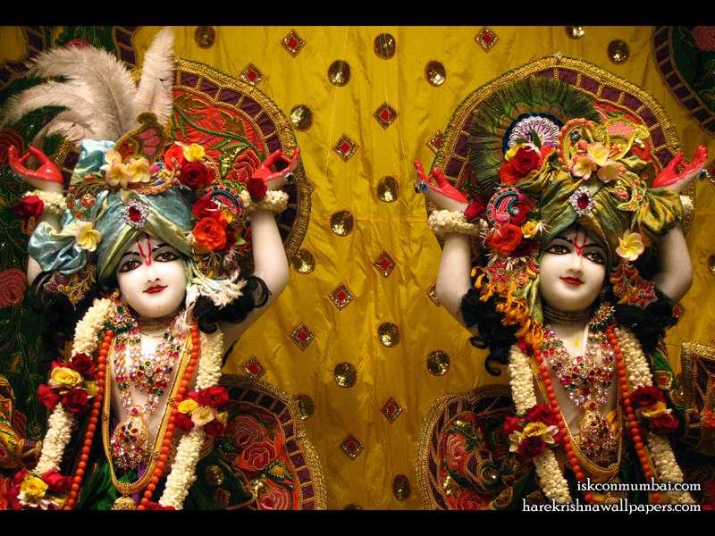 Sri Gaura Nitai Close up Wallpaper (010)