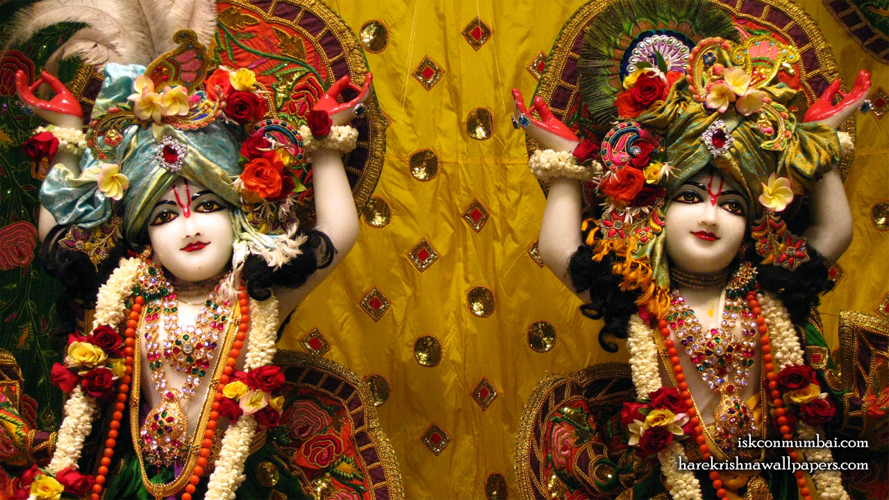 Sri Sri Gaura Nitai Close up Wallpaper (010) Size1280x720 Download